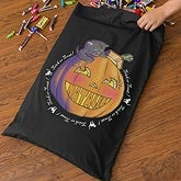 Personalized Halloween Trick Or Treak Bag for Girls - Pumpkin - 10856