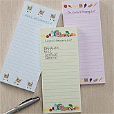 Personalized Grocery List Notepads - Magnetic - 10858