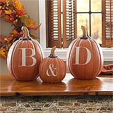 Personalized Halloween Pumpkins - Initials - 10872