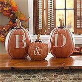Personalized Halloween Pumpkins - Initials - 10872