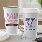 Personalized Eco-Friendly Travel Tumblers - Personally Yours - 10879