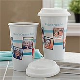 Personalized Travel Tumblers - Photo Message - 10881