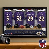 Personalized Baltimore Ravens NFL Locker Room Canvas Print - 10910
