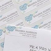 Personalized Return Address Labels - Floral - 10919