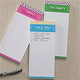 Personalized Magnetic Notepads - Dot to Dot - 10924