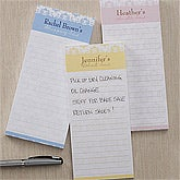 Personalized Magnetic Notepade Set - Damask - 10933