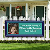 Personalized Photo Party Banner - You Name It - 10934