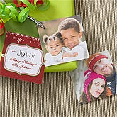 Personalized Photo Gift Tags - Happy Holidays - 10974