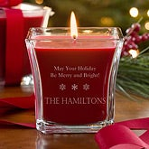 Personalized Christmas Candles - Spirit of Christmas - 11026