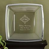Personalized Anniversary Gift Keepsake Platter - 11032