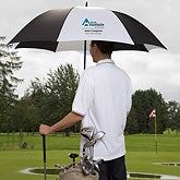 Embroidered Corporate Logo Golf Umbrella - 11040