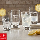 Bormioli Rocco® Corporate Logo Lounge Glass Set of 4  - 11044