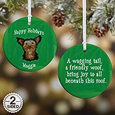 Personalized Dog Breed Christmas Ornaments - 11054