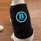 Personalized Dog Shirts - Initial & Name - 11069