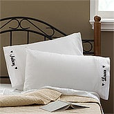 Personalized Pillowcase Set for Couples - Love Is In The Air - 11071