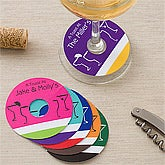 Personalized Wine Glass Tags - 11094