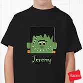 Boys Personalized Halloween Sweatshirts - Frankenstein