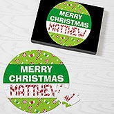 Personalized Holiday Puzzle - Merry Christmas - 11109