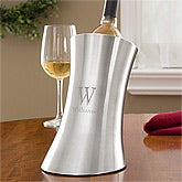 Personalized Wine Chiller - Stainless Steel - 11110