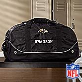 NFL Baltimore Ravens Embroidered Duffel Wheelie Bag