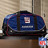 Personalized New York Giants Rolling Duffel Bags - 11119