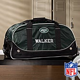 Personalized New York Jets Rolling Duffel Bags - 11120
