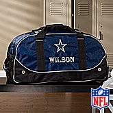 Personalized Dallas Cowboys Rolling Duffel Bags - 11123