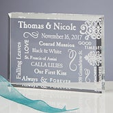 Personalized Romantic Keepsake Gift - Our Life Together - 11140