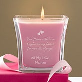 Personalized Scented Candle - Flame of Love - 11143