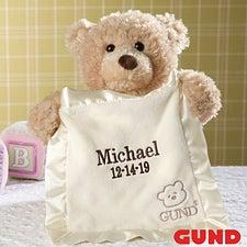 Personalized Gund Bear - Peek-A-Boo - 11152