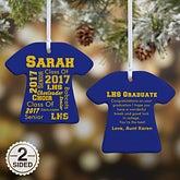 Personalized Christmas Ornaments - School Spirit - 11154