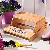 Personalized Kids Step Stool Chair - 11193D