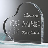 Personalized Heart Keepsake - Be Mine - 11210