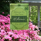 Personalized Garden Flag - Irish Welcome - 11219