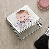 Personalized Photo Mirror Compact - 11223D
