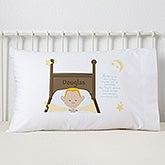 Personalized Boys Pillowcase - Bedtime Prayer - 11231