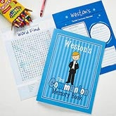 Personalized First Holy Communion Memory Book - Communion Boy - 11251