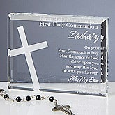 Personalized First Communion Gifts - Communion Blessing - 11288