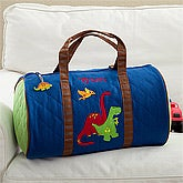Personalized Kids Duffel Bag - Dinosaurs - 11297