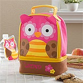 Personalized Lunch Bags - Owl - 11302