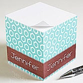 Personalized Sticky Note Cubes - Her Design - 11349