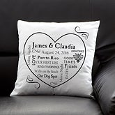 Personalized Keepsake Pillows - Our Life Together - 11351