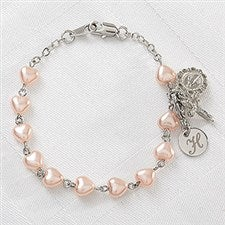 Personalized Heart Rosary Bracelet - 11361  sc 1 st  Personalization Mall & Popular First Communion Gift Ideas | PersonalizationMall.com