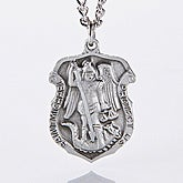 St. Michael Law Enforcement Personalized Pendant