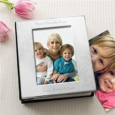 Engraved Silver Picture Albums for Her - 11372