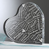 Personalized Heart Keepsake - Couple In Love - 11387