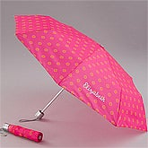 Personalized Pink Umbrella for Her  - 11398