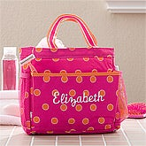 Personalized Shower Caddy - Sorbet Spots - 11399