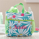 Personalized Shower Caddy - Daisies - 11400