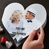 Personalized Valentine's Day Photo Card - You + Me - 11417